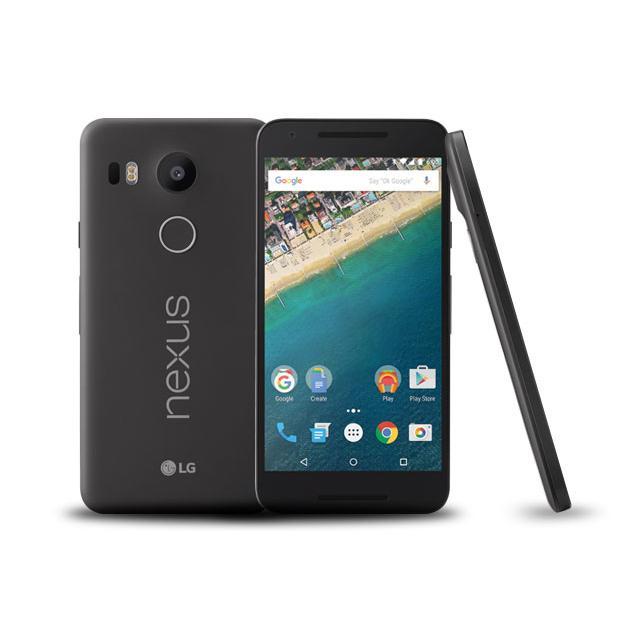 LG Google Nexus 5X - Noir charbon - 32 Go - Débloqué