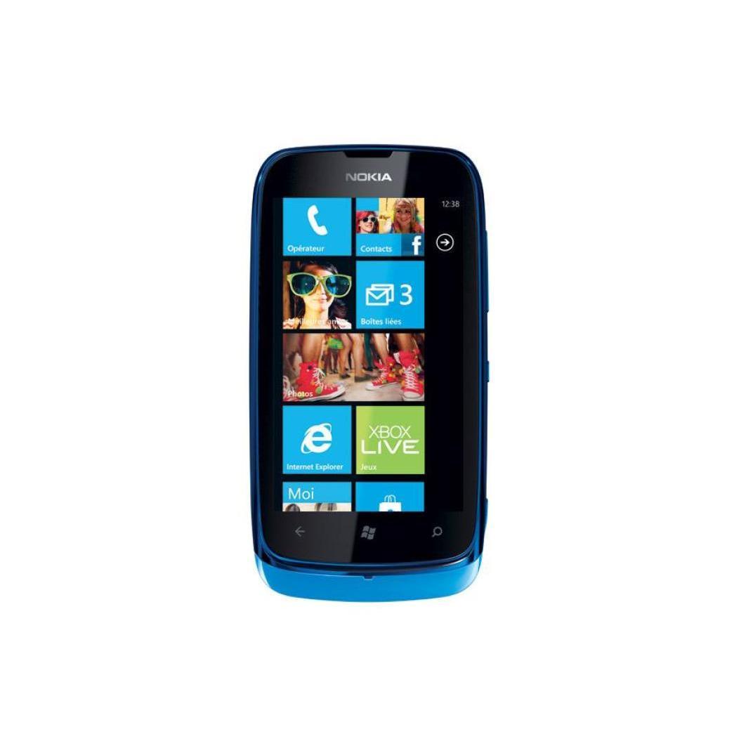 Nokia Lumia 610 8 Go - Bleu - Débloqué