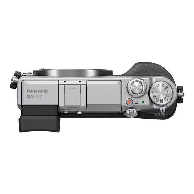 Panasonic Lumix DMC-GX7 Gehäuse - Silber