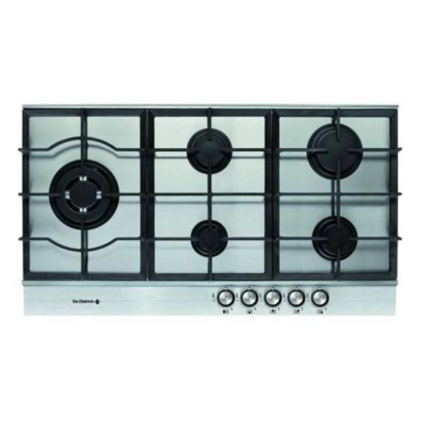 Table de cuisson - Gaz 5 foyers - DE DIETRICH DTE1192X