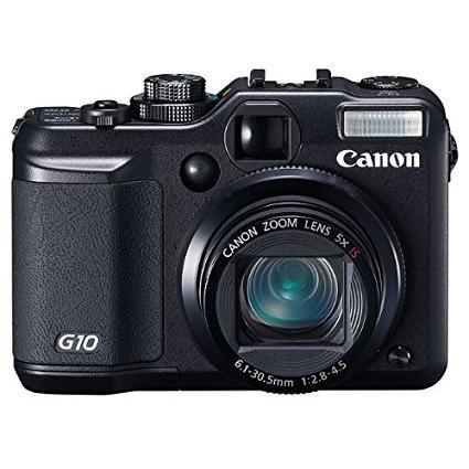 Canon PowerShot G10 schwarz (2663B010)