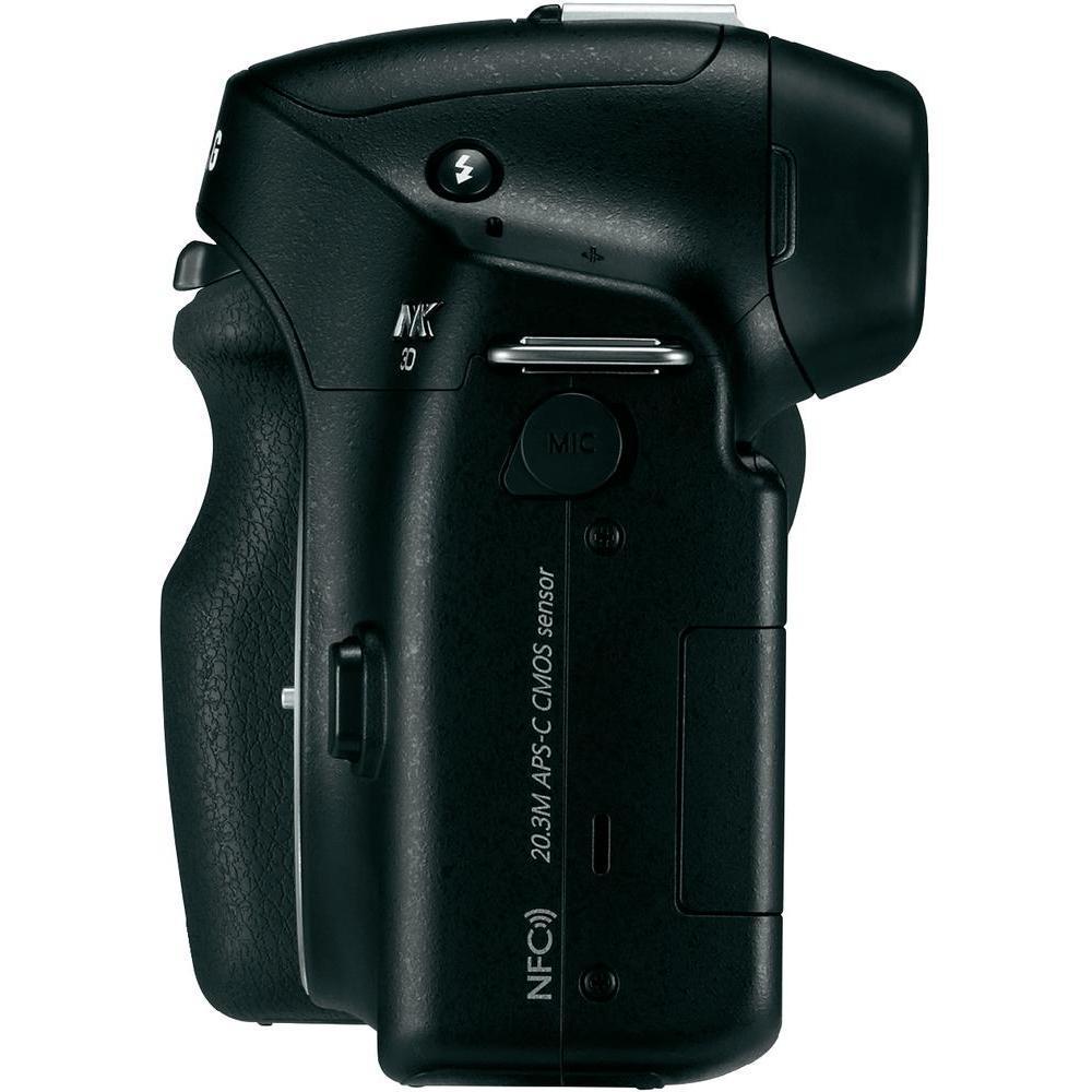 Híbrido- Samsung NX30 Sin objetivo - Negro