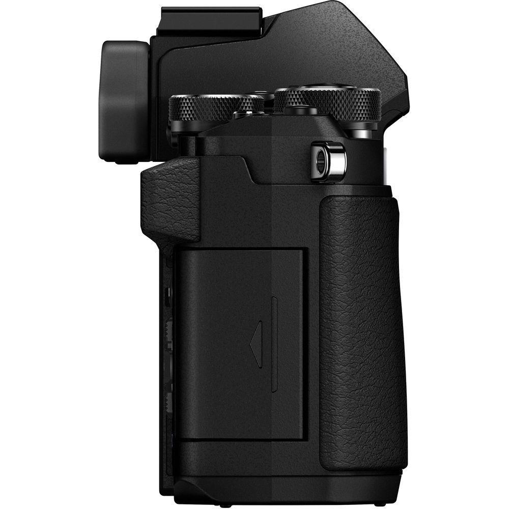 Hybride - Olympus OM-D E-M5 Mark II boitier nu - Noir