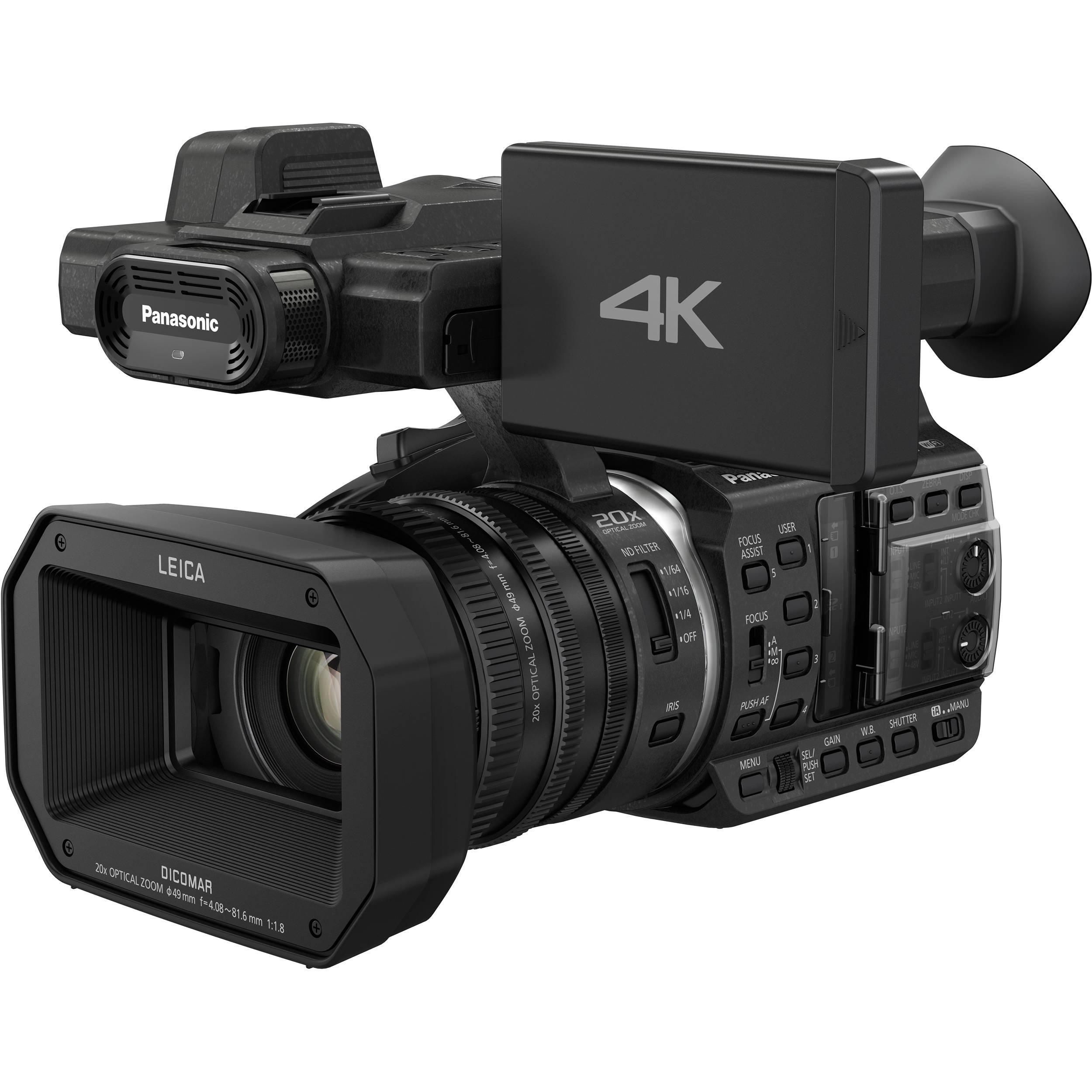 Caméscope Panasonic HC-X1000 4K - Noir