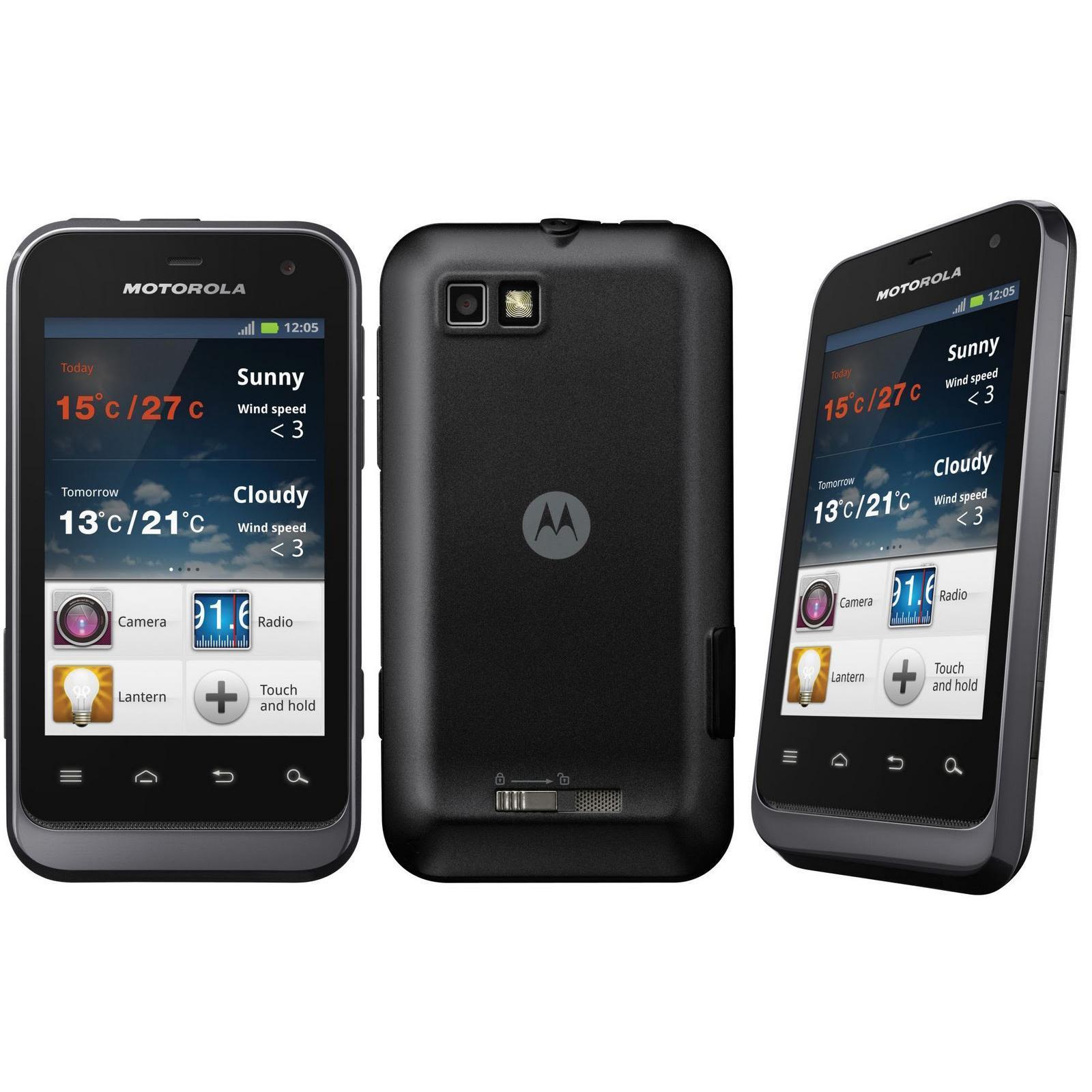 Motorola Defy Mini XT320 - Noir - Débloqué