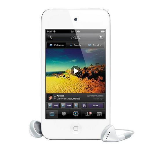 Apple iPod touch 4 - 8GB - Weiß