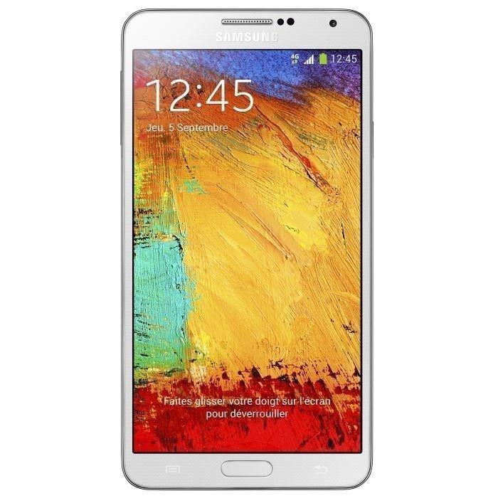 Samsung Galaxy Note 3 16 Go N9005 4G - Blanc - Débloqué