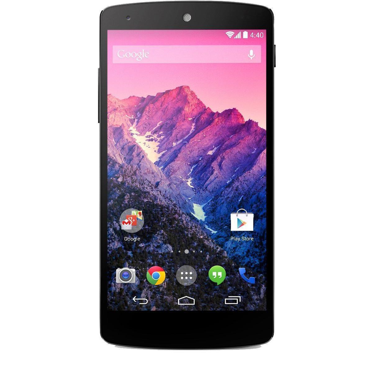 LG Nexus 5 16 GB 4G - Weiß - Ohne Vertrag