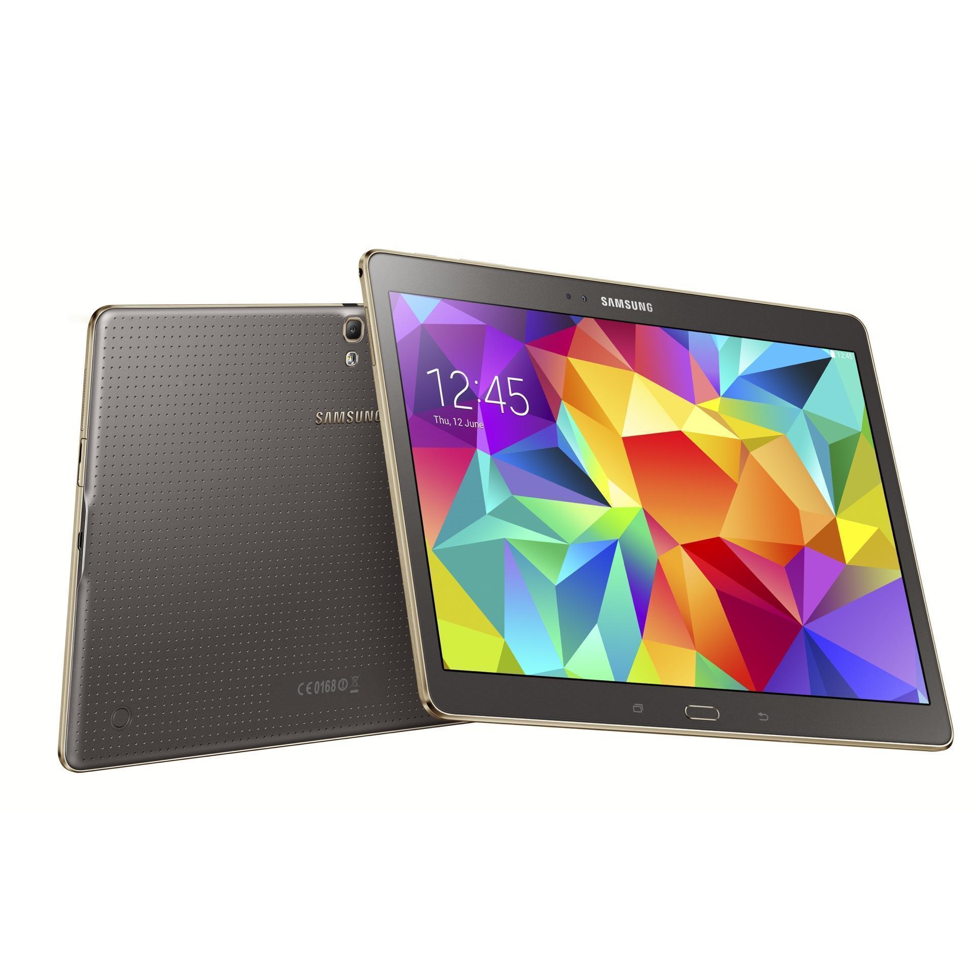 "Samsung Galaxy Tab S SM-T700 Bronze - 16GB - 8,4"""