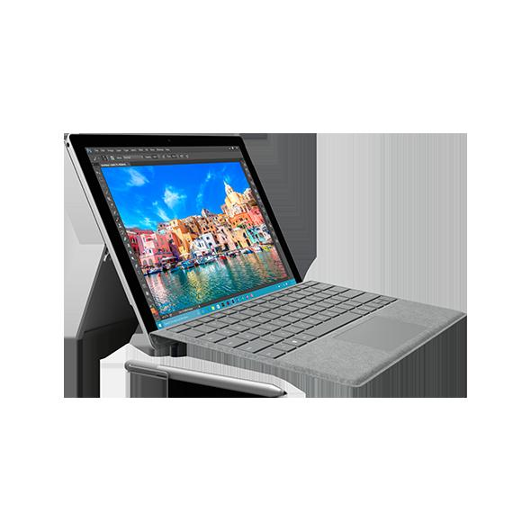 Microsoft Surface 3 64 GB inkl. Type Cover - Silber