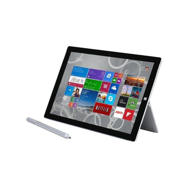 "Microsoft Surface 3 10,8"" Intel Atom - SSD 128 Go - RAM 2 Go - Gris"