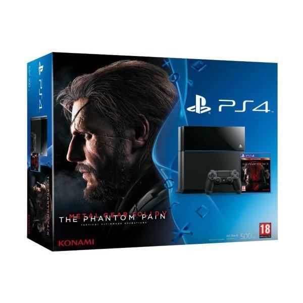 Sony PS4 500 Go + Metal Gear Solid V Phantom Pain - Noir