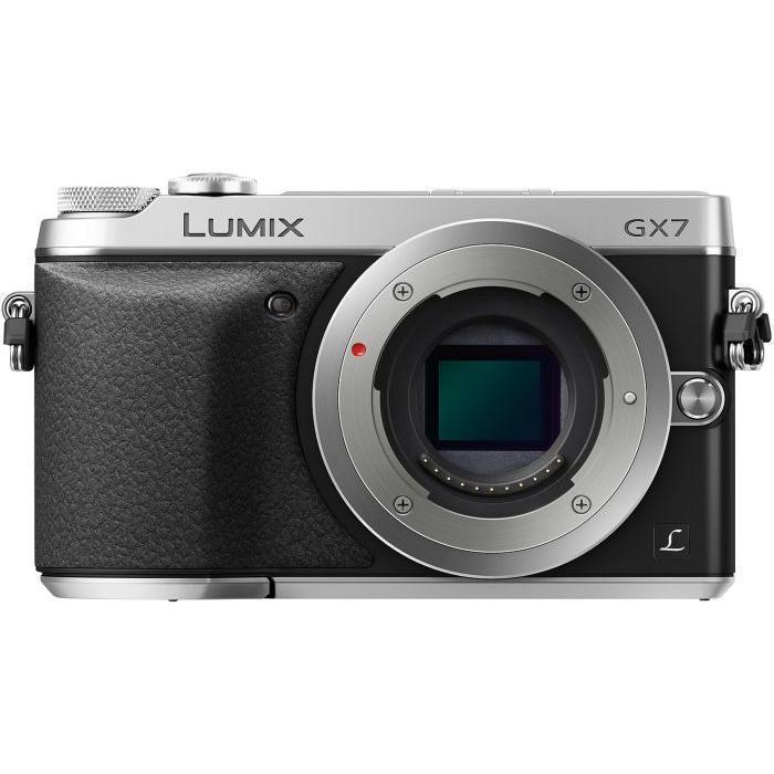 Hybride - Panasonic Lumix DMC-GX7 Nu - Argent