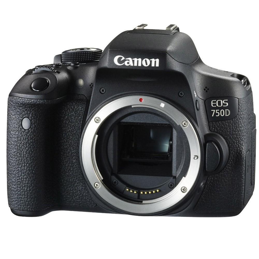Reflex - Canon EOS 750D Boitier nu