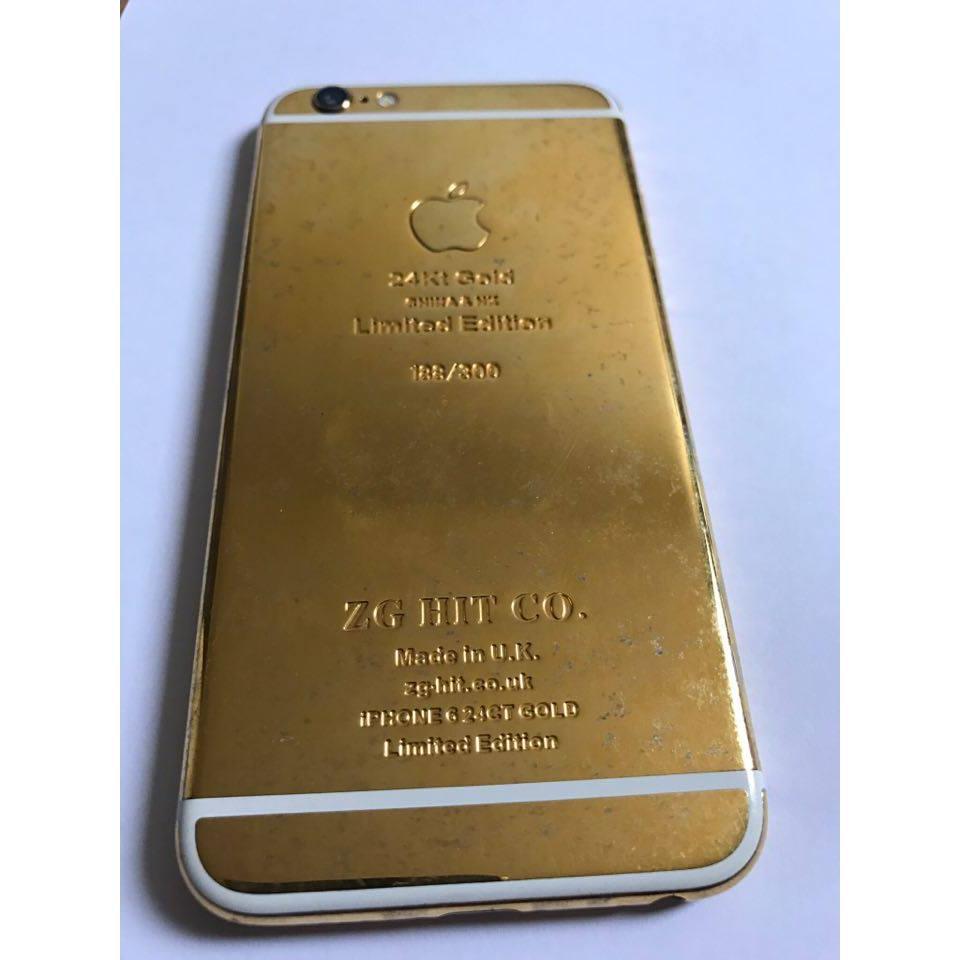 iPhone 6 16 Go - Or 24 Carats - Débloqué