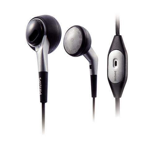 Écouteurs avec micro Philips SHM3100U - Gris/Noir