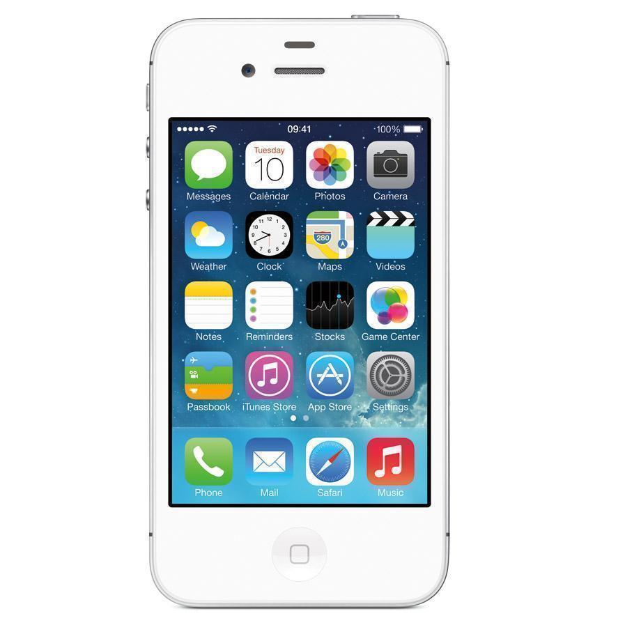 iPhone 4s 16GB - Weiß - Ohne Vertrag