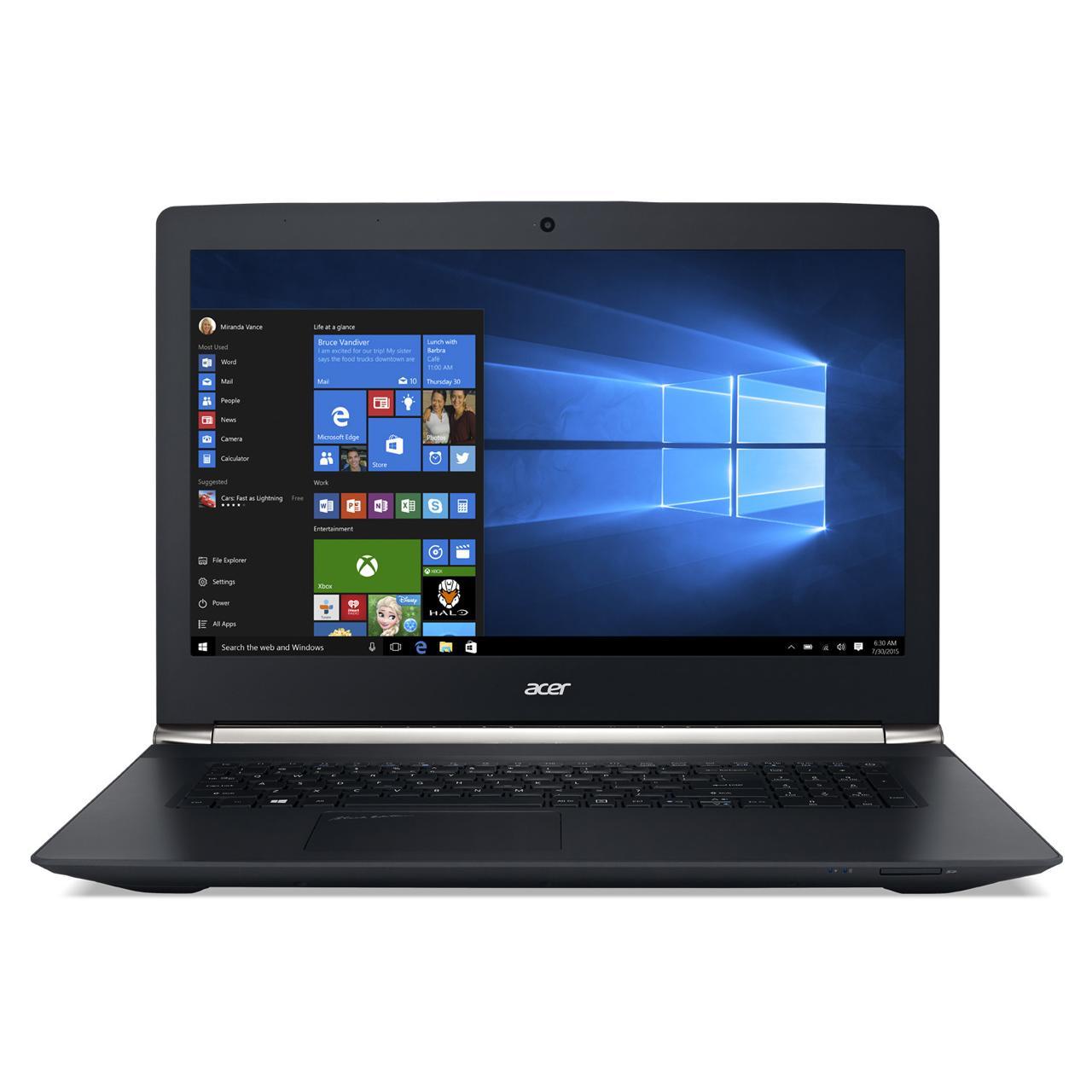 Acer ASPIRE VN7-792G-79A8 - I5-5200U 2.6 GHz - HDD + SSD 1000  Go - RAM 8 Go - AZERTY