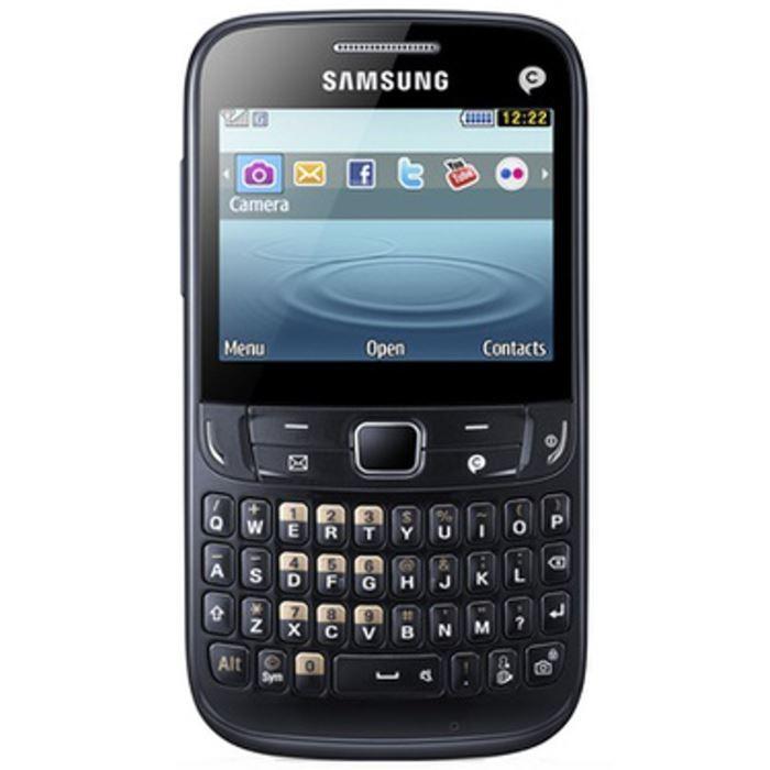 Samsung Chat 357 32 Mo - Noir - Débloqué