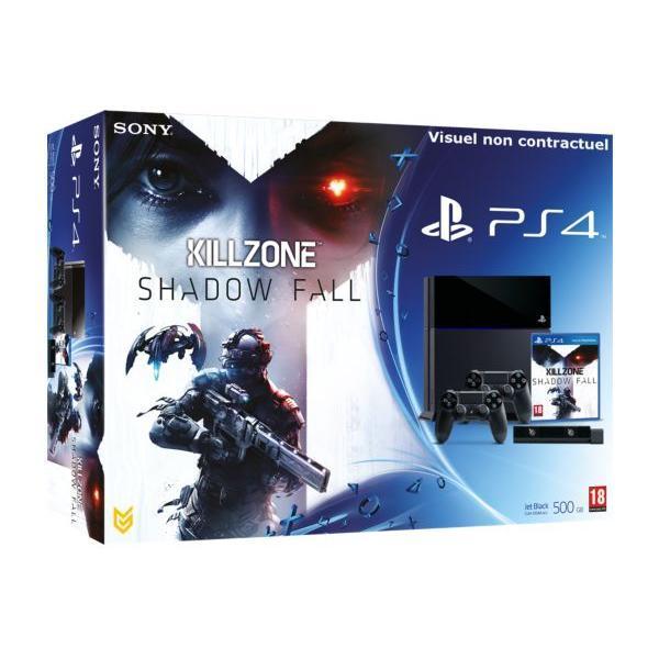 Pack - SONY PS4 500Go + KillZone : Shadow Fall + Caméra PlayStation Eye + 2e DualShock 4