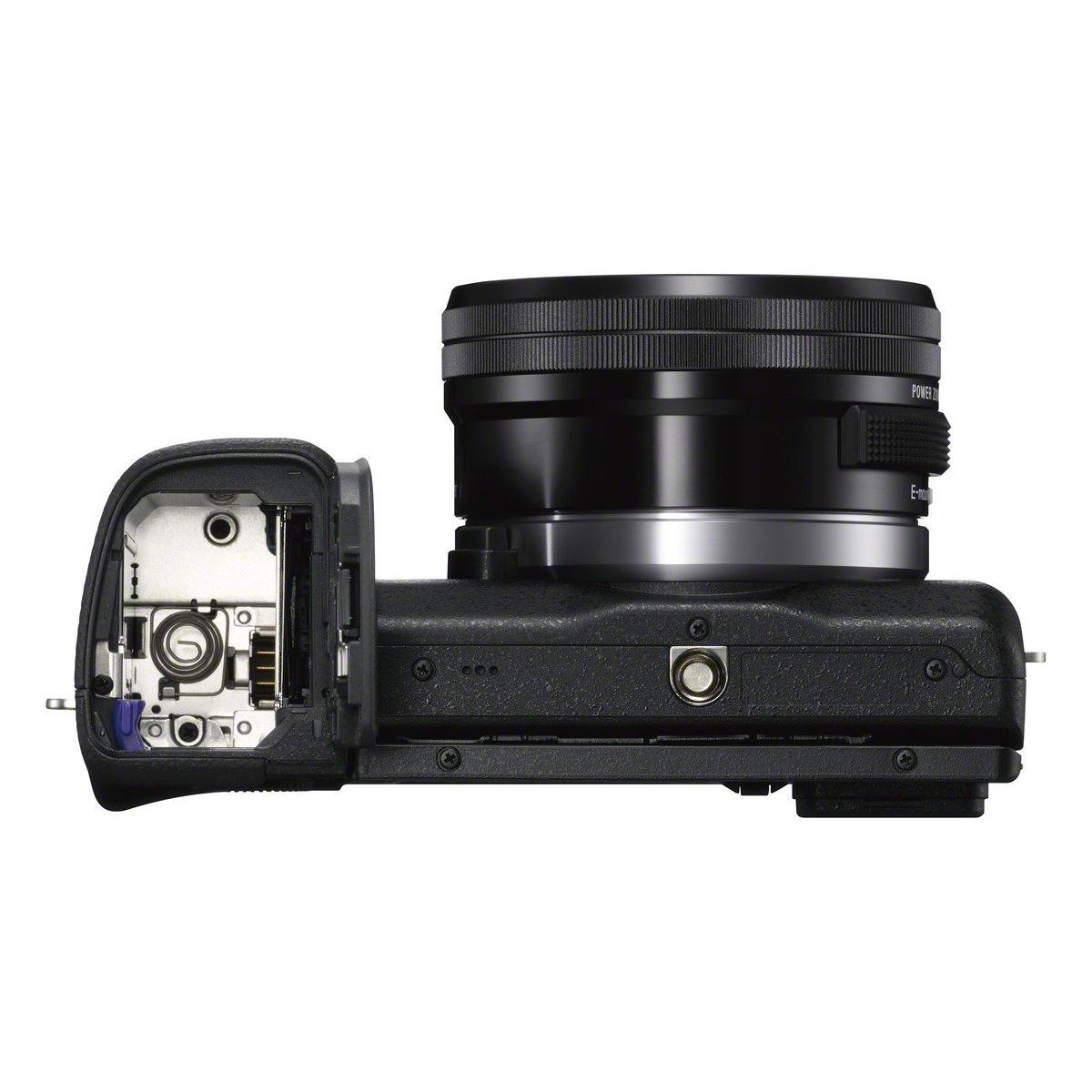 Hybride - Sony Nex-6 + Objectif 16-50 mm - Noir