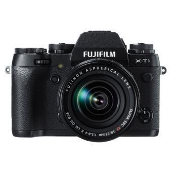 Hybride - FujiFilm X-T1 + Objectif 18-55 mm - Noir