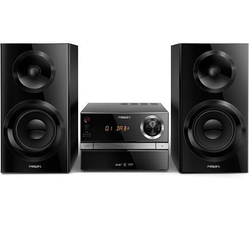 Micro-chaîne CD + USB + Bluetooth Philips BTB2370/12