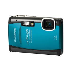 Kompaktkamera Olympus µ TOUGH-6010 Türkisblau + Objektiv Olympus 28-102 mm f/3.5-5.1