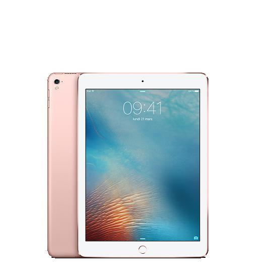 """iPad Pro 9,7"""" 128 Go - 4G - Or rose - Débloqué"""