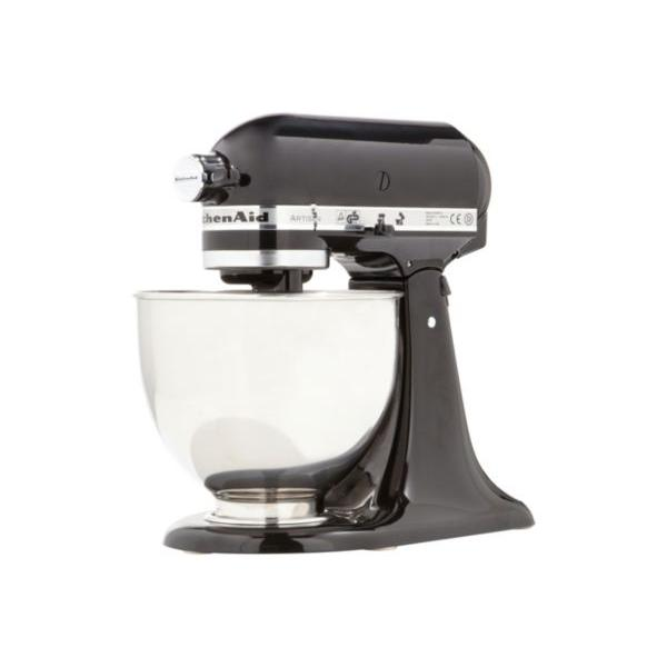 Robot pâtissier sur socle KitchenAid Artisan 5KSM150PSEOB - Noir Onyx