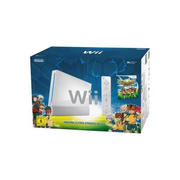 Pack - Nintendo Wii + Inazuma Eleven