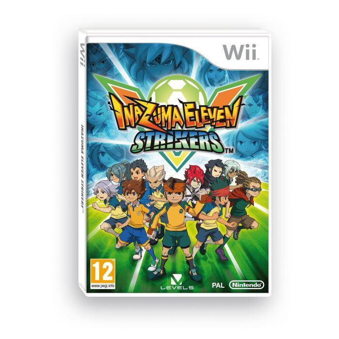 Pack - Nintendo Wii + Inazuma Eleven - Blanc