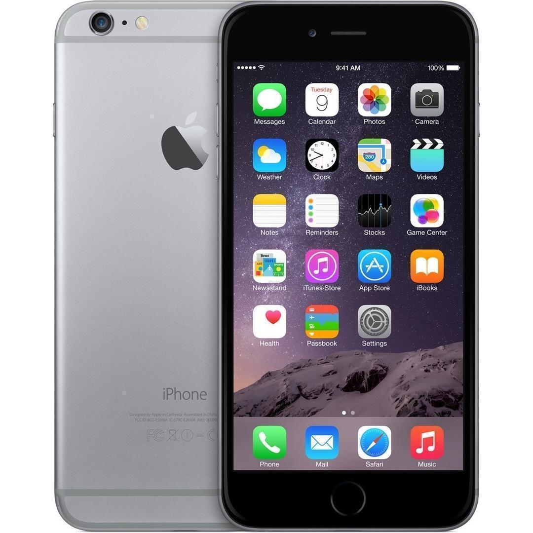 iPhone 6S Plus 128 GB - Spacegrau - Ohne Vertrag