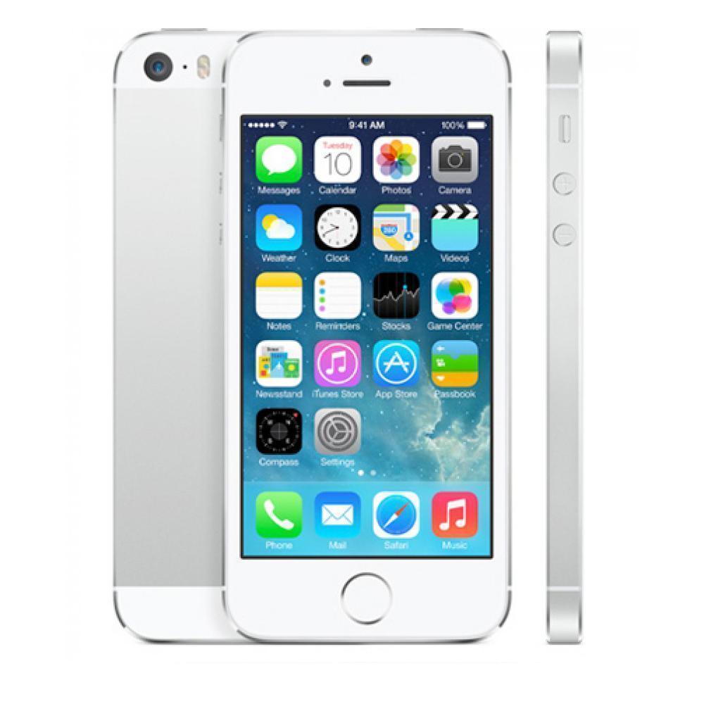 iPhone 5S 16 GB - Silber - Orange