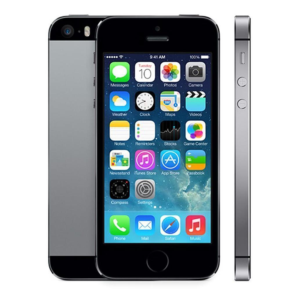 iPhone 5S 16GB - Spacegrau - Ohne Vertrag