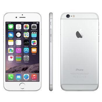 iPhone 6 Plus 64GB - Silber - Orange