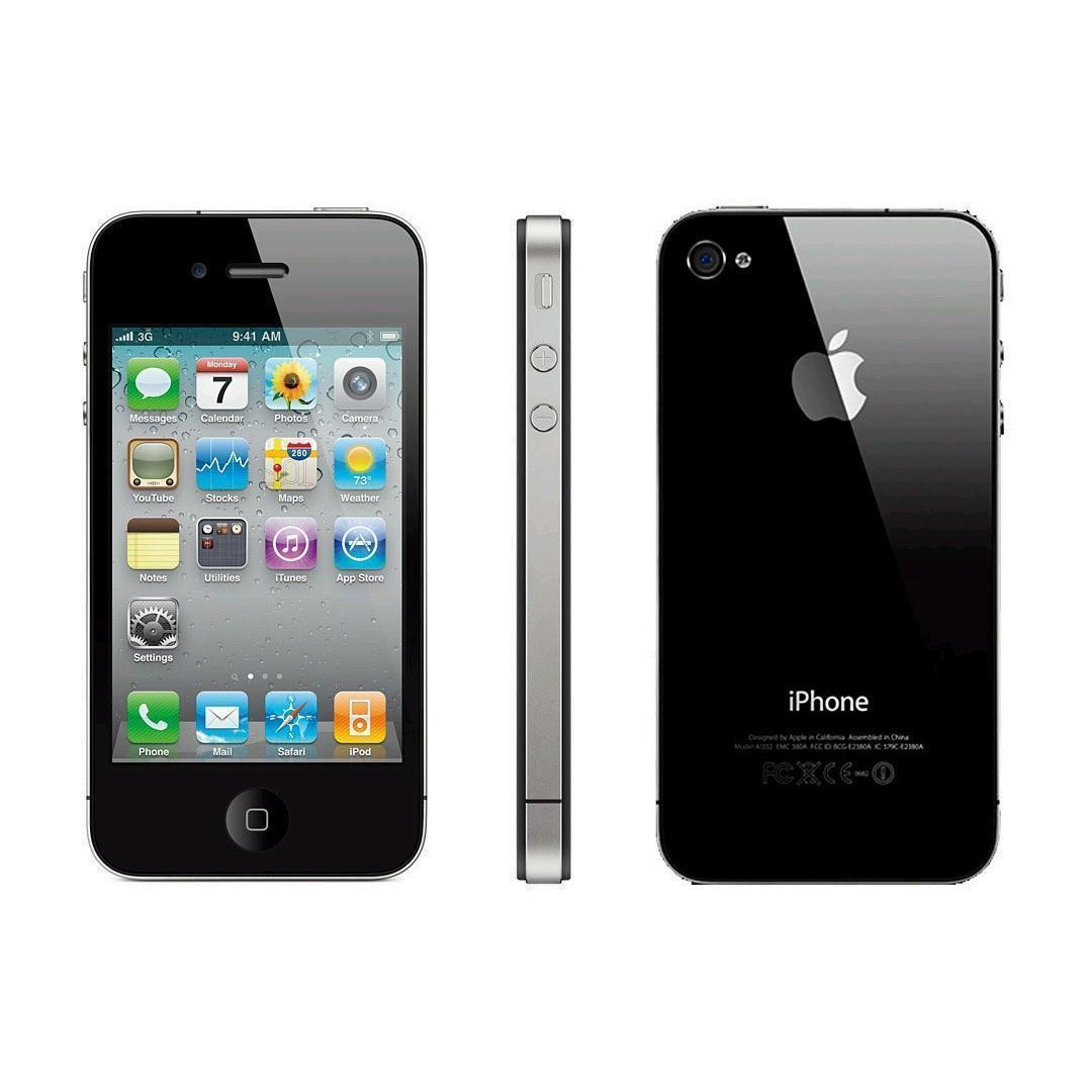 IPHONE 4 8 GB NEGRO Libre