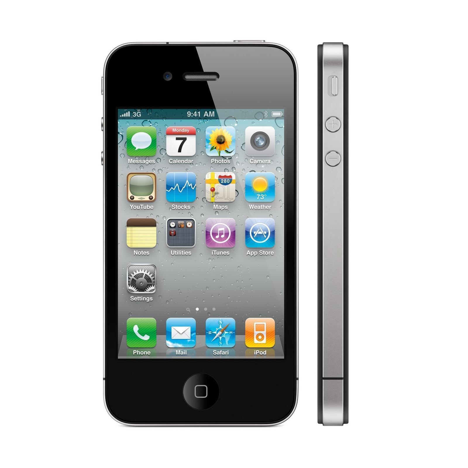 iPhone 4S 8 Go - Noir - Débloqué