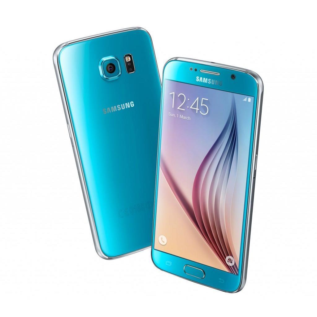 Samsung Galaxy S6 G920F 128 Go - Bleu - Débloqué