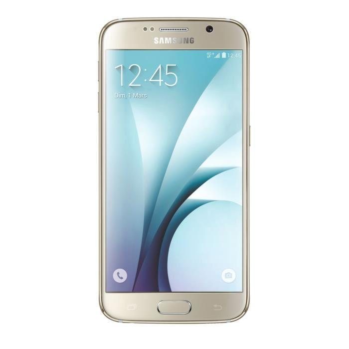 Samsung Galaxy S6 G920F 128 Go 4G - Or - Débloqué