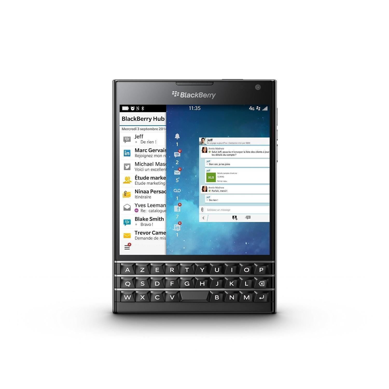 BlackBerry Passport (Azerty) 32 Go Noir - Débloqué