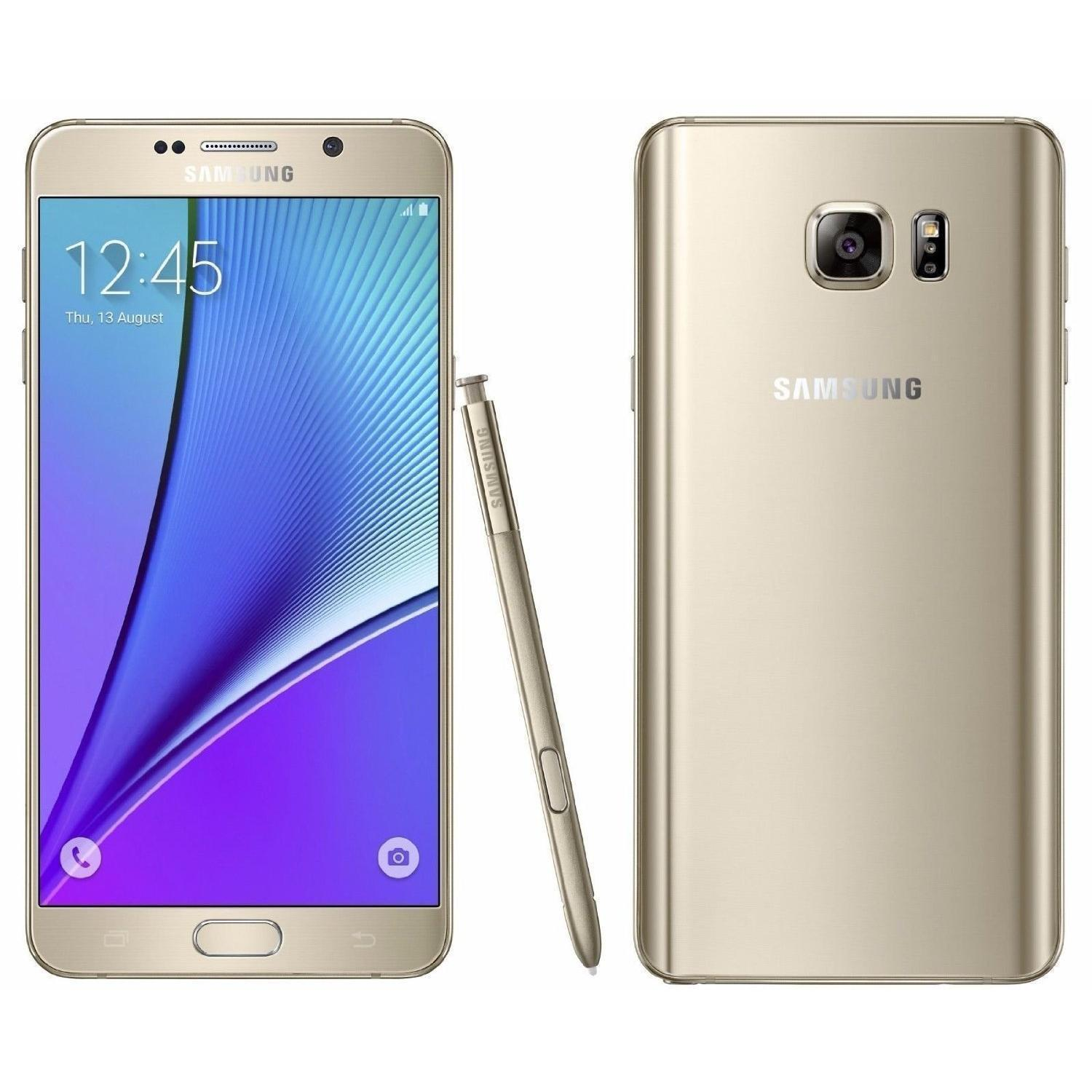 Samsung Galaxy Note 5 - 64 GB - Oro - Libre