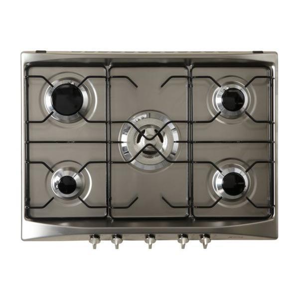 Table de cuisson - Gaz 5 foyers - SMEG SR275X