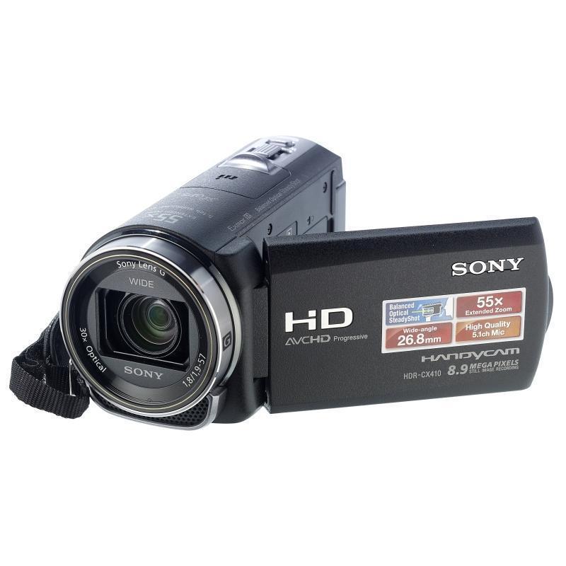 Caméscope numérique Sony HDR-CX410VE 2,3 Mpx - Noir