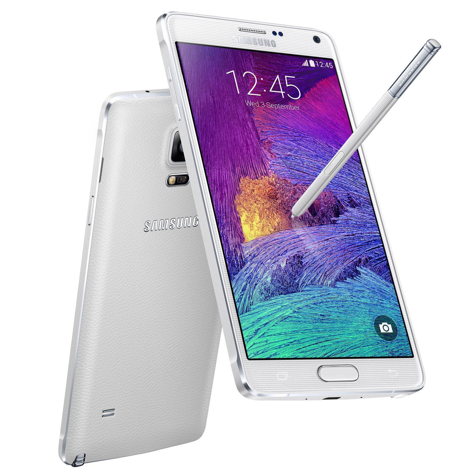 Samsung Galaxy Note 4 SM-N910F 32 GB 4G Blanco
