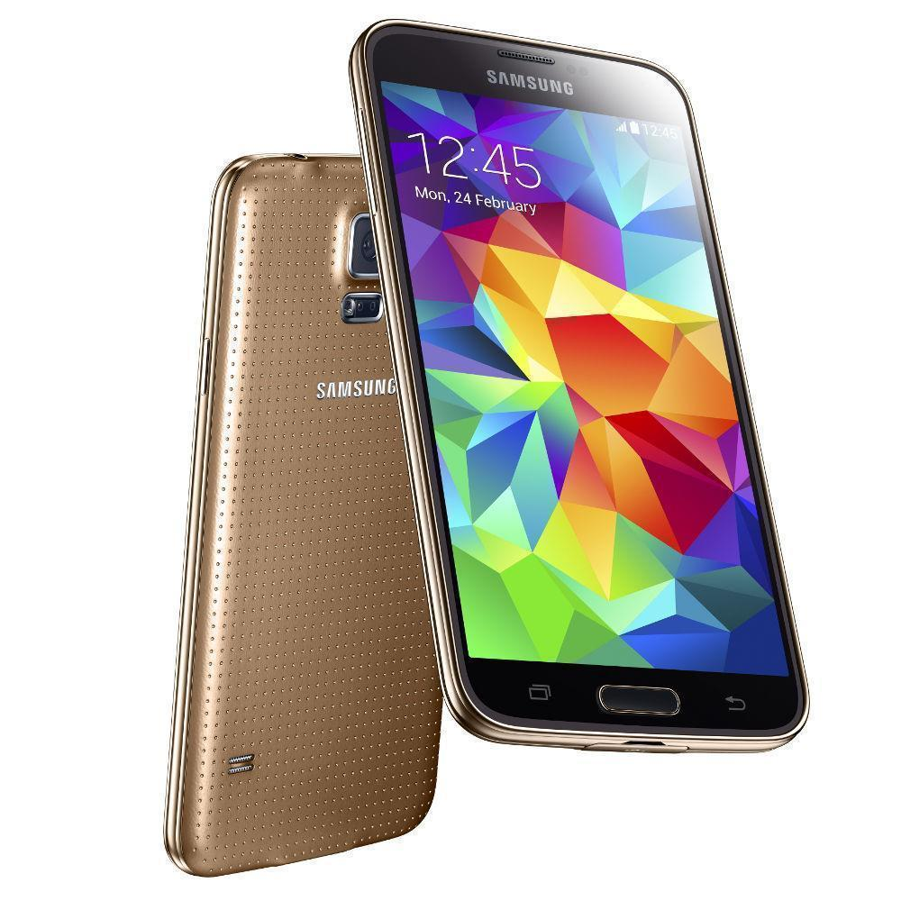 Samsung Galaxy S5 16 Go G900F 4G - Or - Débloqué