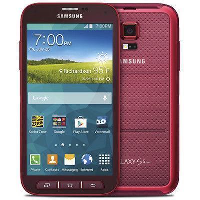 Samsung Galaxy S5 Active 16 Go - Rouge - Débloqué