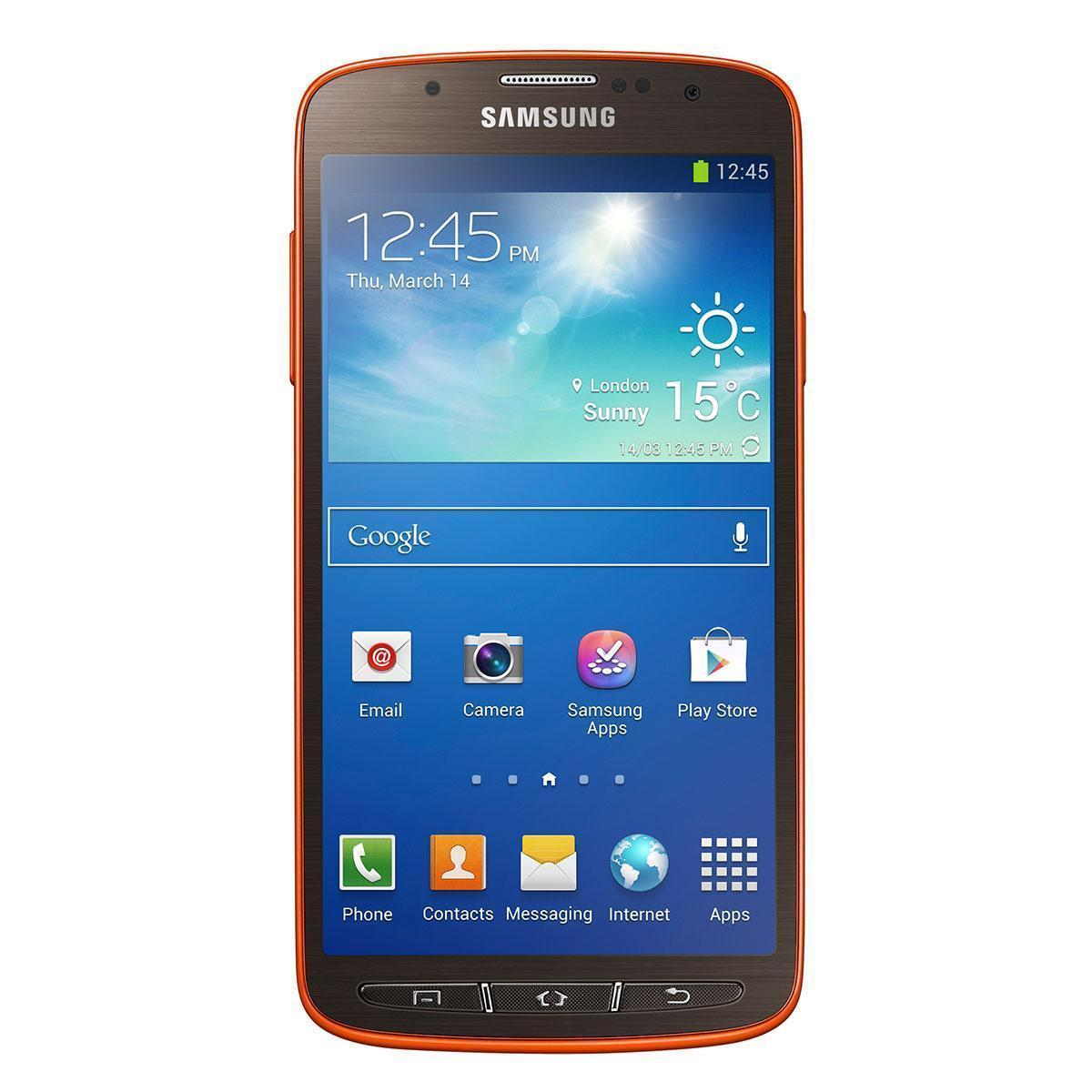 Samsung Galaxy S4 Active 16 Go - Orange - Débloqué