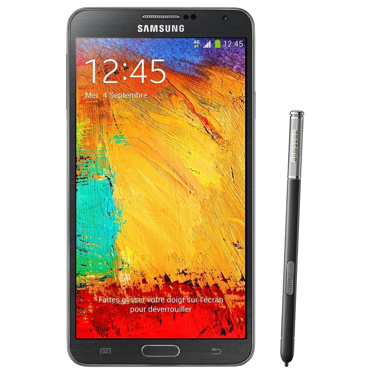 Samsung Galaxy Note 3 N9005 32 Go - Noir - Orange