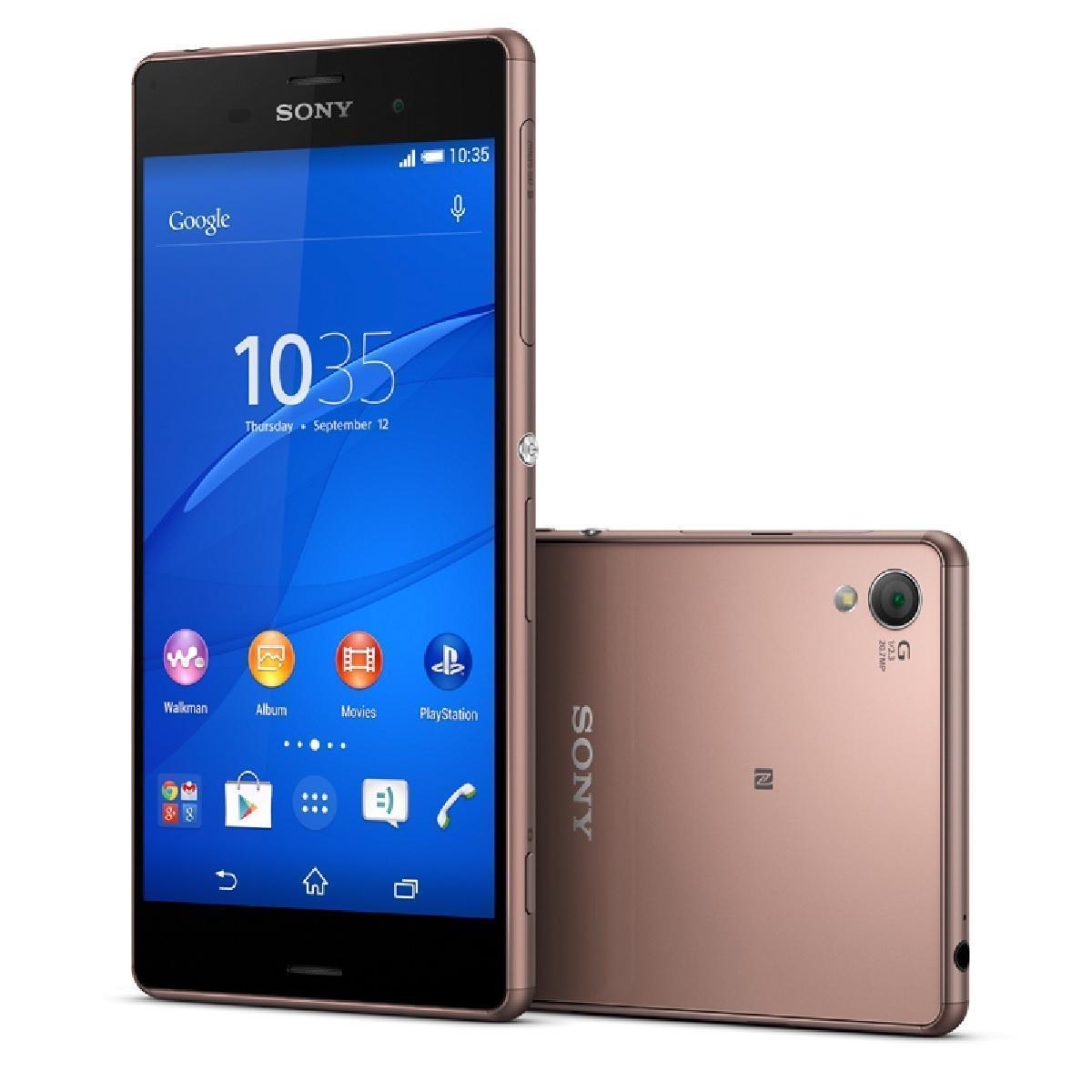 Sony Xperia Z3+ 32 Go - Marron - Débloqué